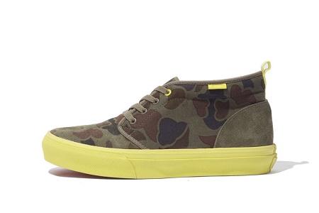 Кеды XLarge x Vans Chukka Boot Hunting Camouflage