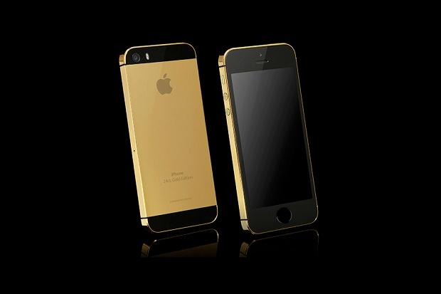 iPhone 5s из золота и платины