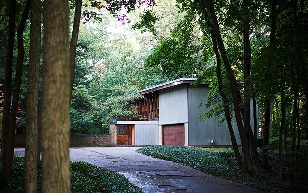 Дизайн интерьера частного дома Kirkpatricks от Джорджа Нельсона