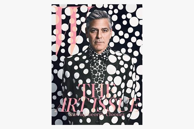 Джордж Клуни в арт-съемке для W Magazine