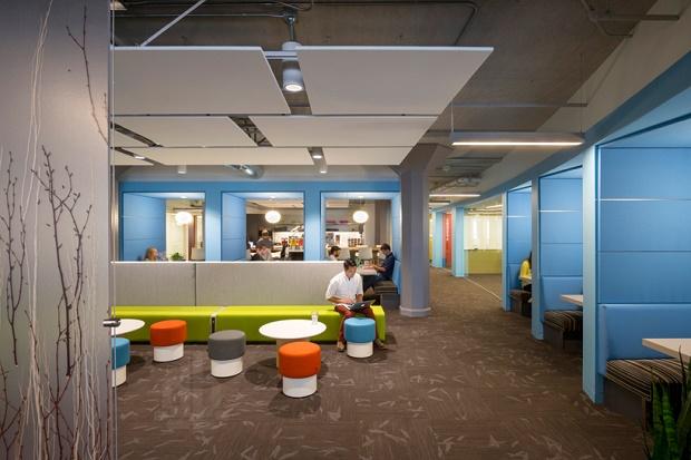 Новая штаб-квартира Twitter в Сан-Франциско