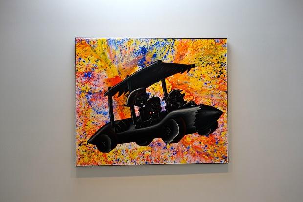 """Кенни Шарф - инсталляция """"Pop Renaissance"""""""