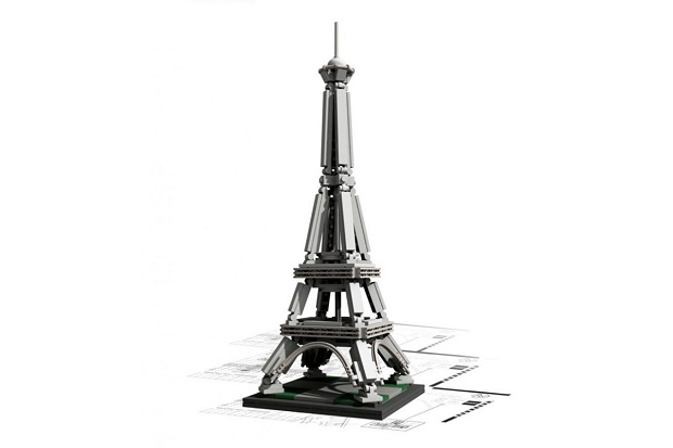 Архитектурная серия LEGO: The Eiffel Tower