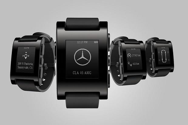 Pebble и Mercedes-Benz выпустят общие смарт-часы
