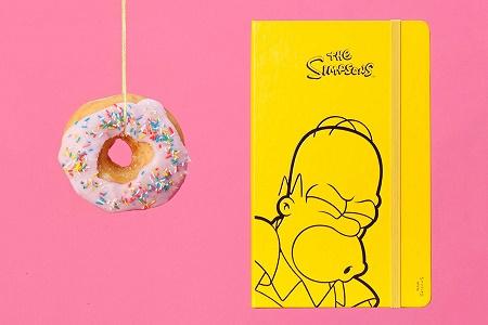 Лимитированная коллекция The Simpsons x Moleskin