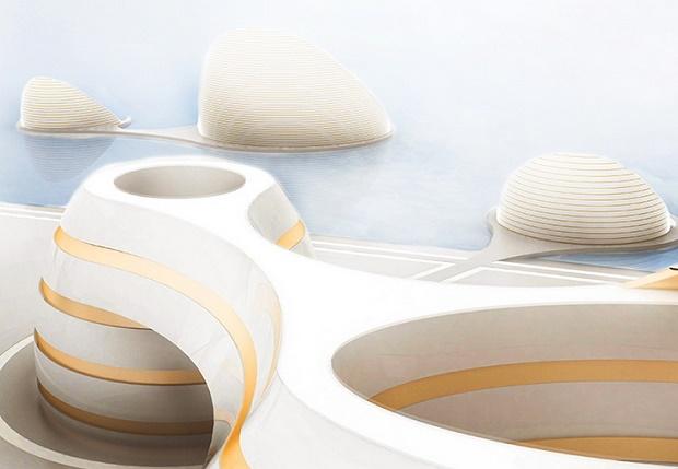 """""""Органические города"""": проект Luca Curci Architects в ОАЭ"""