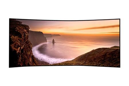 Изогнутый Ultra HD TV от Samsung с диагональю 105 дюймов