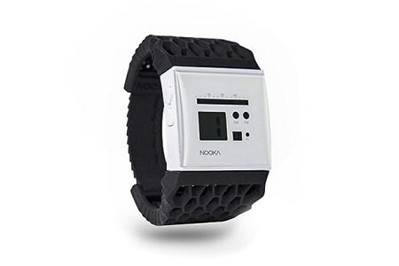 Новая коллекция напечатанных наручных часов Zub 40 от NOOKA
