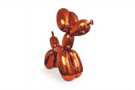 Джефф Кунс «Собака из воздушных шаров (Оранжевая)» — $58 млн
