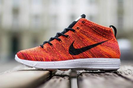 Кроссовки Nike Lunar Flyknit Chukka сезона Весна 2014