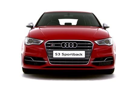 Новое видео пятидверная версия Audi S3 Sportback
