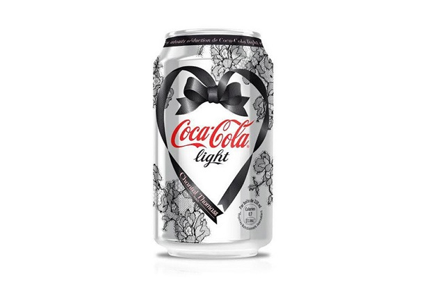 Шанталь Томас поработала над дизайном Coca-Cola Light