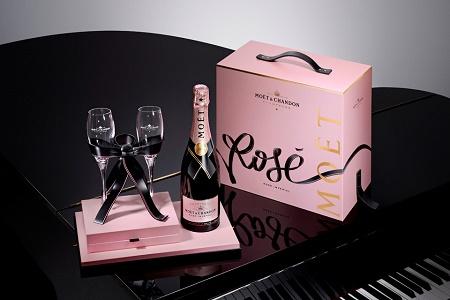 Эксклюзивная серия шампанского Moеt & Chandon для влюбленных