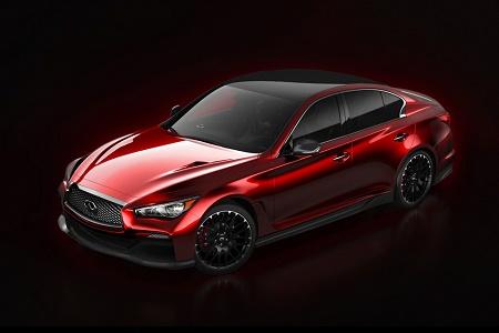 Рассекречен концептуальный спортседан Infiniti Q50 Eau Rouge