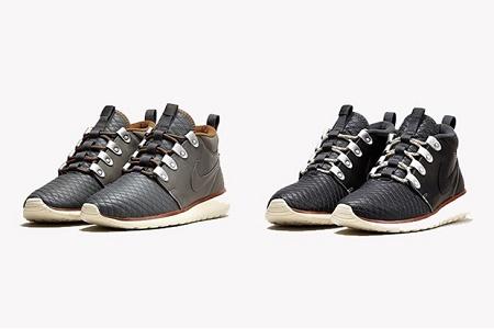 Кроссовки Nike Roshe Run Sneakerboot Premium Leather