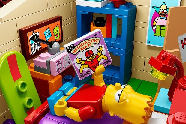 Симпсоны засветятся в LEGO