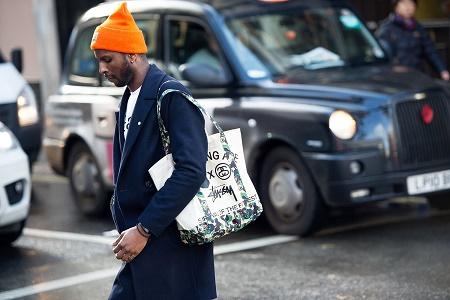 Уличный стиль: Неделя моды в Лондоне Осень/Зима 2014. Часть I