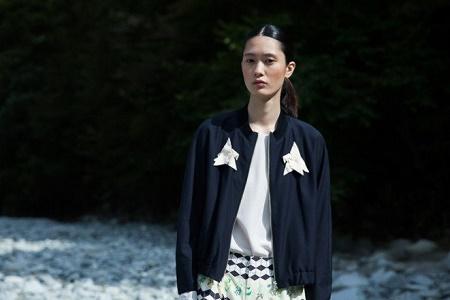 Лукбук весенне-летней коллекции одежды Y.M.Walts 2014