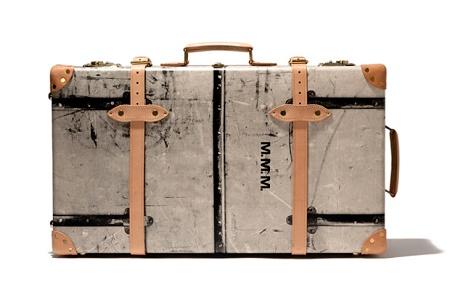 Винтажные чемоданы Maison Martin Margiela & Globe-Trotter