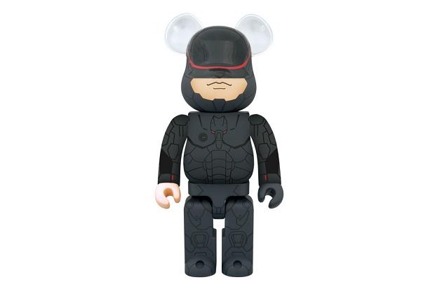 Дизайнерские виниловая фигурка Medicom Toy 400% RoboCop Bearbrick