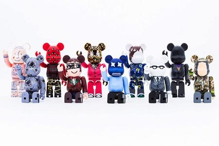 """Medicom Toy выпустит новые виниловые игрушки Bearbrick """"10 Designers"""""""
