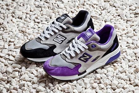 "Кроссовки New Balance 1600 ""Black and Purple"""