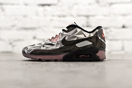Кроссовки Nike Air Max 90 Ice White/Cool Grey-Black-Infrared