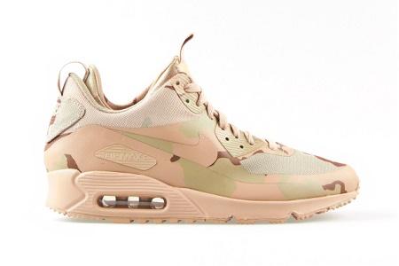Кроссовки Nike Air Max 90 Sneakerboot MC SP Desert Camo