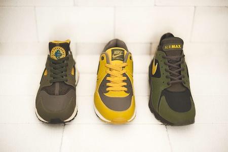 "Кроссовки Nike ""Army & Navy"" от size?"