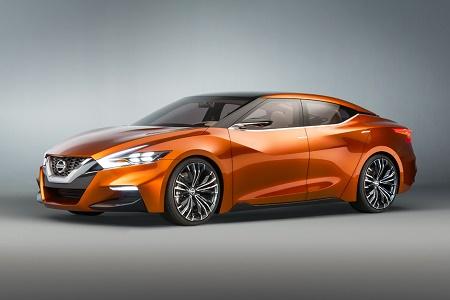 Будущая Nissan Maxima показалась в концепте Sport Sedan