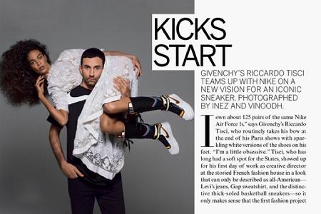 Превью новой коллаборации Riccardo Tisci x Nike
