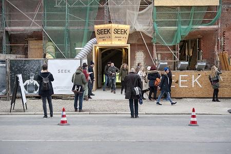 Выставка SEEK в Берлине Январь 2014