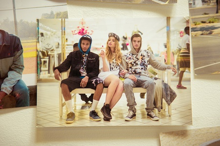 Лукбук коллекции одежды марки The Hundreds Весна 2014