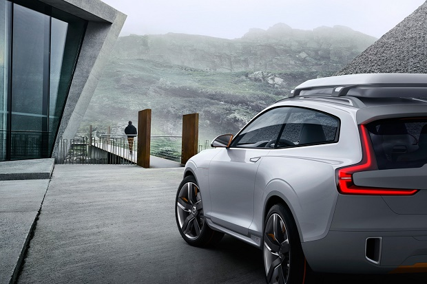 Будущее кроссоверов Volvo: Concept XC Coupe
