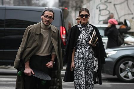 Уличный стиль: Неделя моды в Милане Осень/Зима 2014. Часть III
