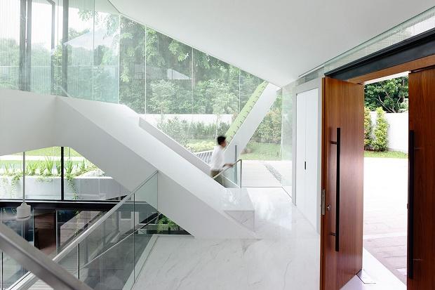 Ультрасовременный частный дом-бунгало от студии A-Dlab