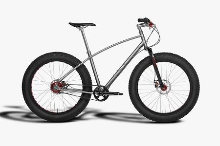 Велосипед Budnitz FTB для езды по снегу