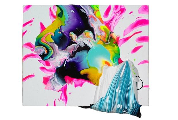 Абстрактный экспрессионизм художника Яго Хортала