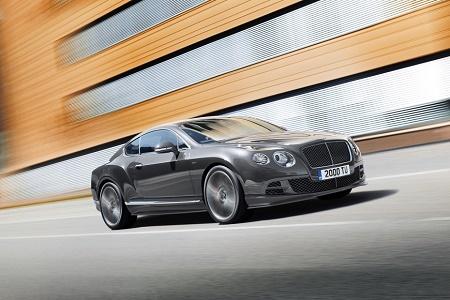 Обновленный Bentley Continental GT Speed стал самым быстрым в истории