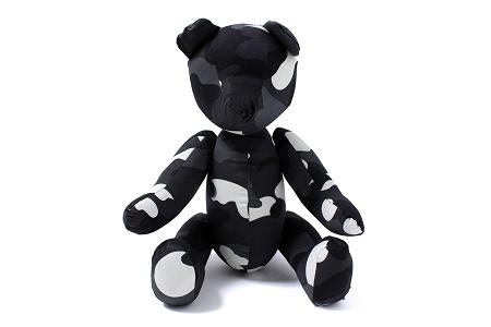 Светящийся плюшевый медведь CITY CAMO TEDDY BEAR от A Bathing Ape