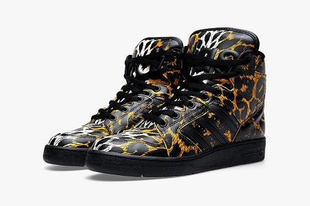 "Кеды adidas Originals x Jeremy Scott Instinct Hi ""Leopard"""