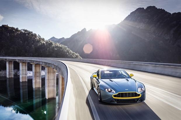 Aston Martin V8 Vantage N430 едет в Женеву