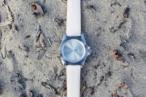 Часы Becomb Infinity Flesh/Silver - без стрелок и механизма