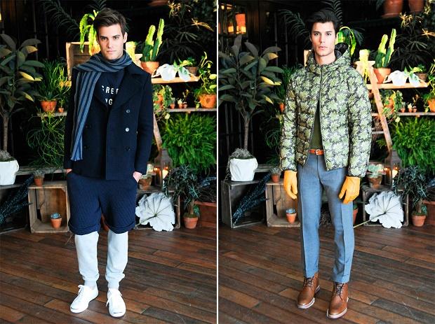 Лукбук коллекции одежды марки Gant Rugger Осень/Зима 2014