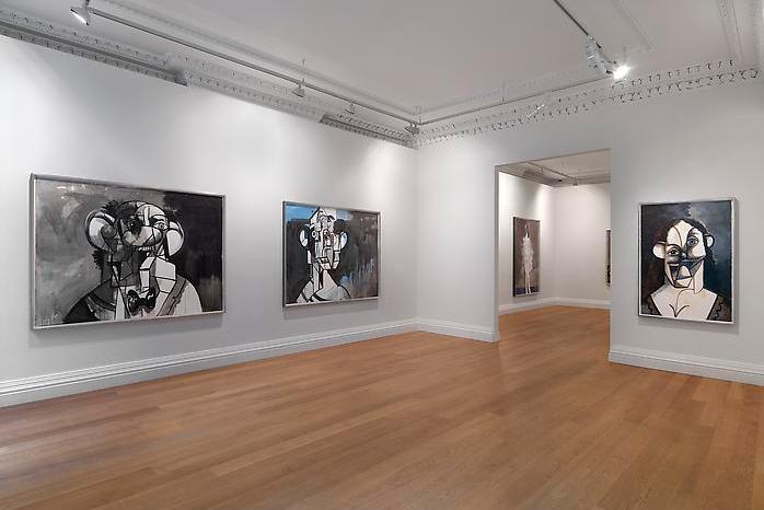 "Галерея ""Ink Drawings"" от Джорджа Кондо в Лондоне"