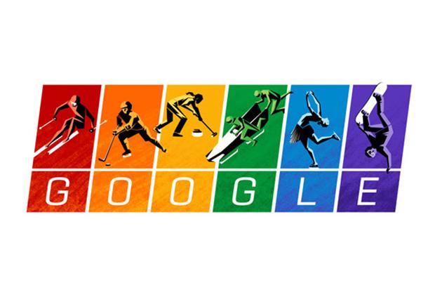 """Google поставил """"радужный дудл"""" в день старта Олимпиады"""