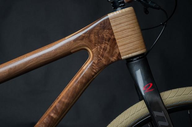 Деревянный велосипед AnalogOne.One от Майка Пексока