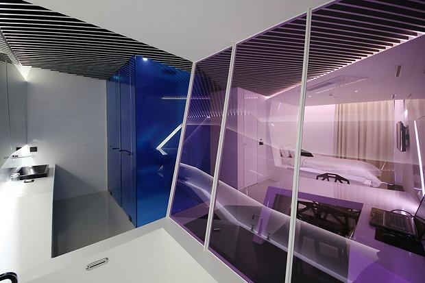 Грани кристалла в специальном номере отеля The Designers