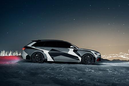 Джон Олссон представил свой эксклюзивный Audi RS6 Avant