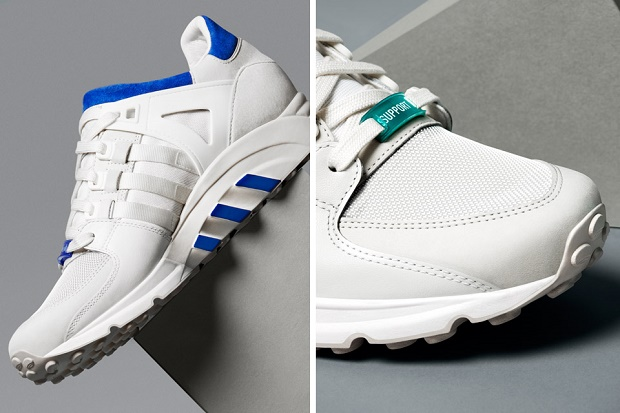 Коллекция кроссовок EQT White от adidas Originals Весна/Лето 2014
